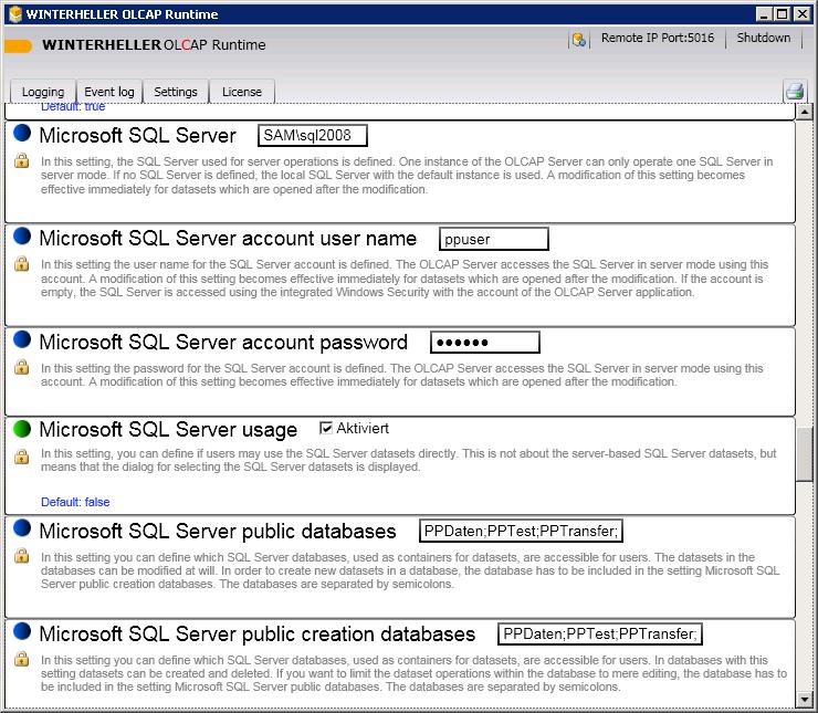 FAQ:Wie richte ich die Verbindung zwischen Professional Planner und dem MS SQL Server ein ...
