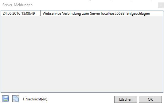 verbindung mit server fehlgeschlagen